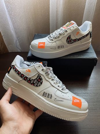· Мужские кроссовки · Nike Air Force 1 Low ( Just do it ) · White
