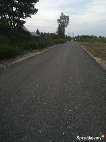 Destrukt ( frez ) asfaltowy. Utwardzenie dróg.