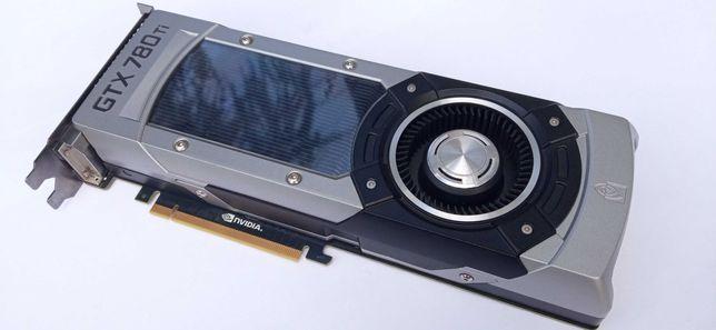 Karta graficzna GeForce GTX 780 Ti 3GB - USZKODZONA