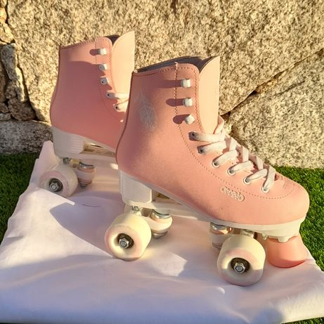 Patins oxelo rosa - tam. 36