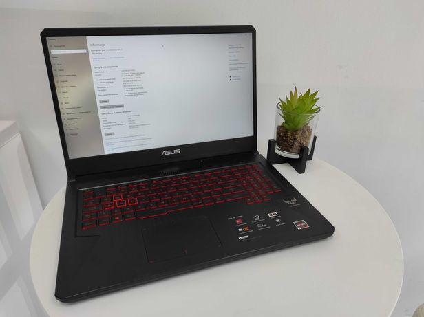 Laptop gamingowy ASUS FX705DY