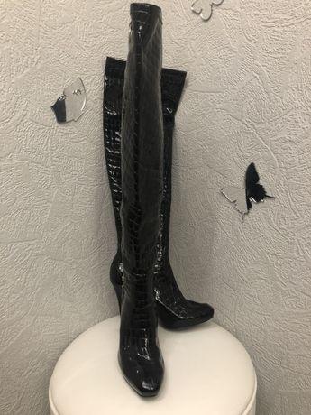 Брендовые сапоги GUESS, оригинал, 36-37 размера