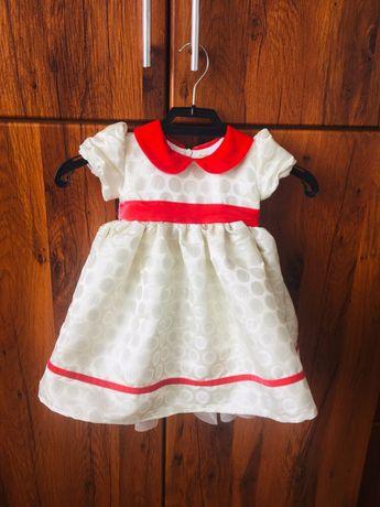 Святкова сукня для дівчинки, платье для девочки, Італія, 6-12 міс