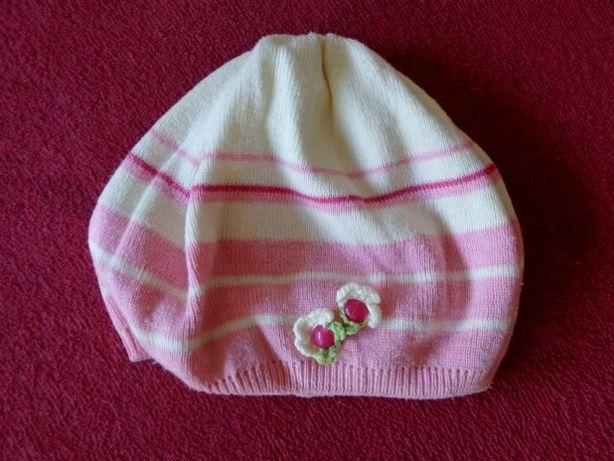 Beret, czapka H&M roz. 116-122 cm.