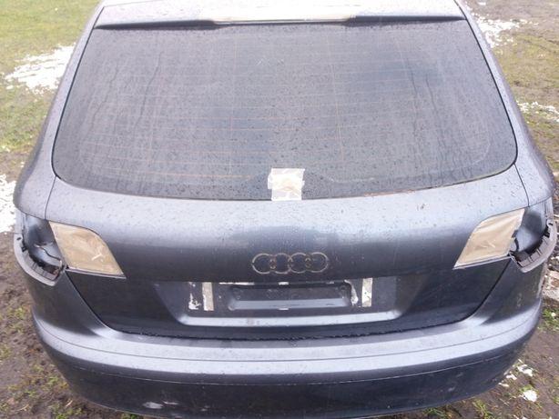 Audi a3 8p sportback klapa tył LX7Z