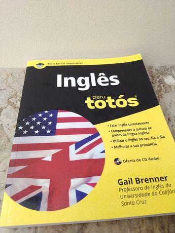 "Livro ""Inglês para totós"" de Gail Brenner"