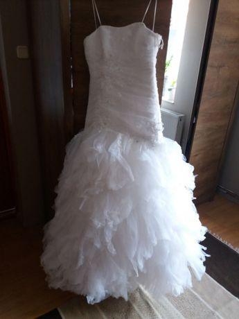 Ms Moda biała suknia ślubna rozmiar 38