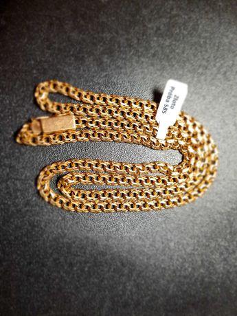 Nowy złoty łańcuszek 31,57gr pr.585 Galibardi