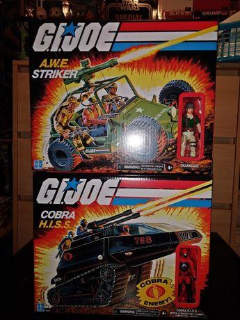 Figurki G.I. Joe A.W.E. Striker + Cobra H.I.S.S.