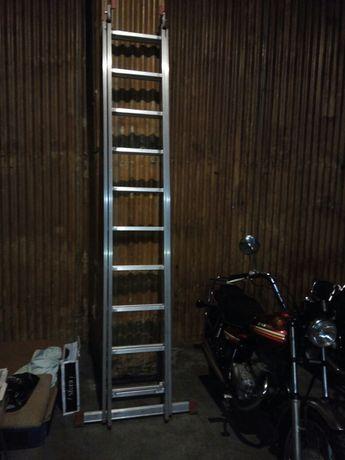 Escada de 2 lances 3 metros Cada