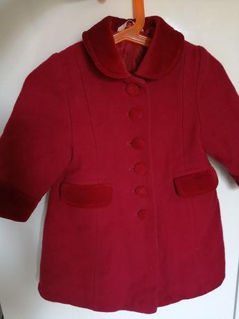 Пальто george для девочки 6-12 месяцев