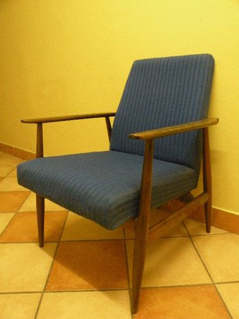 Stylowy drewniany fotel Styl VINTAGE RETRO ART DECO ANTYK