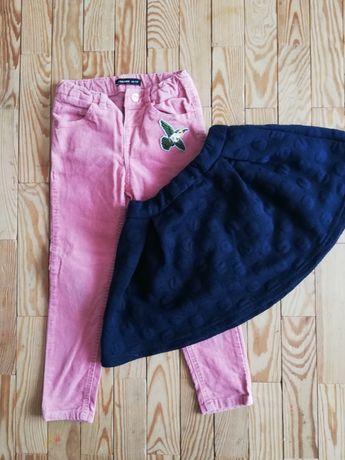 Spodnie, spódniczka 104