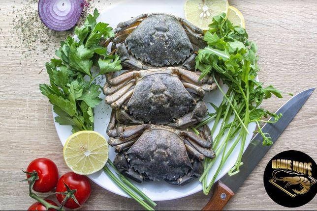 Черноморские крабы.Доставка продуктов питания по всей Украине.