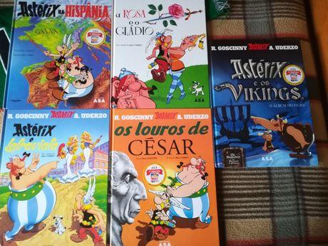 Livros Astérix e Obélix BD