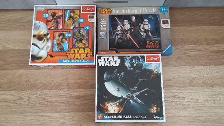 Gra i puzzle z Star Wars