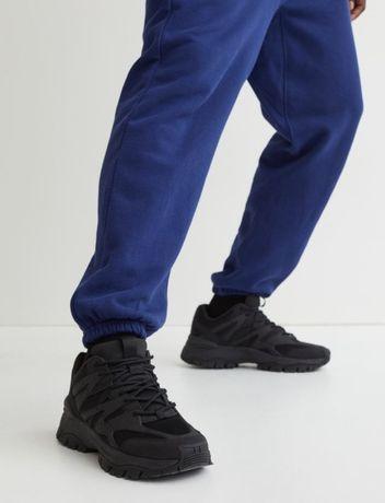 Кроссовки из сетки и искусственной кожи H&M