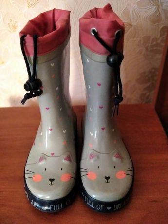 Продам гумові чобітки фірми Тополіно розмір 29 без утеплювача