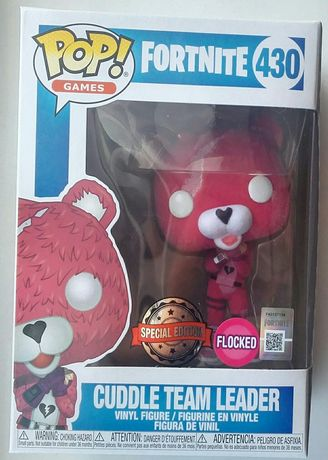 """Cuddle Team Leader"" FORTNITE Funko POP! Flocked Special Edition"