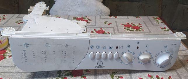Передняя панель управления стиральной машины Indesit WS 105 TX EX
