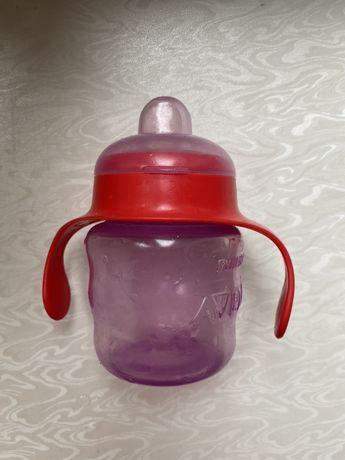 Поильник, бутылка для воды, бутылочка avent