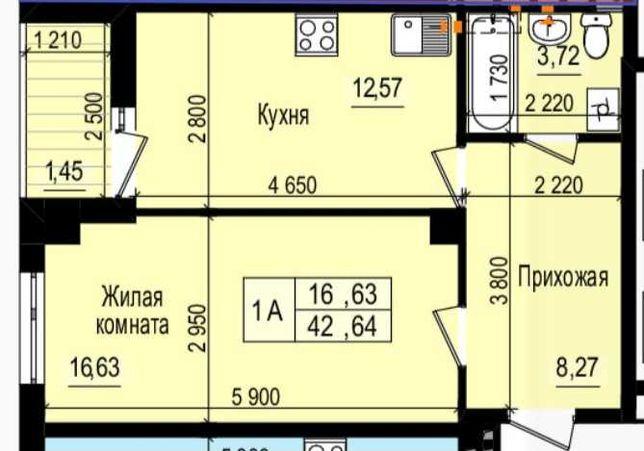 Продам 1 комн., ЖК Пролисок, метро Дворец спорта, Новые дома.