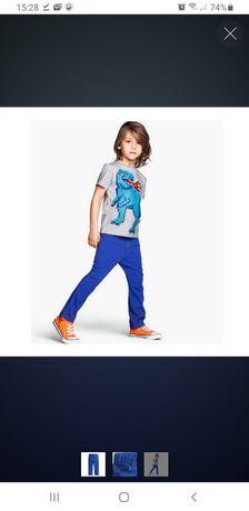 Штаны, лёгкий джинс H&M 116р 5-6 лет!