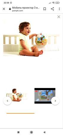 Детский мобиль  Tiny Love на кроватку 3 в 1