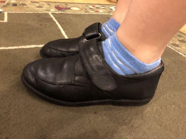 Туфли мокасины на липучках Plato Кожа 31р 20см 120 грн