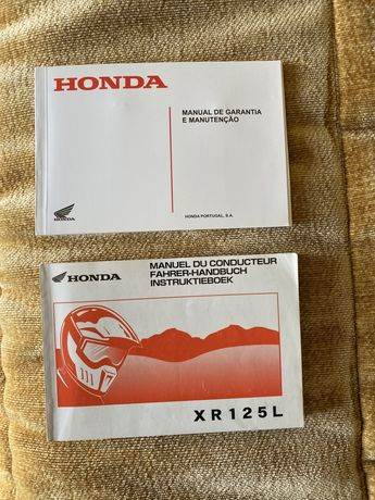Manual  Honda XR 125 L