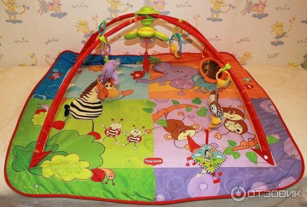 продам детский развивающий коврик Tiny Love сафари