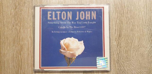 Elton John_S A T W Y L T_Diana_Singiel CD_Oryginał (hologram)