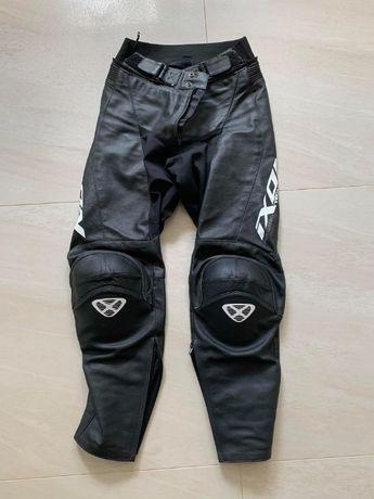 Spodnie skórzane motocyklowe Ixon Fueller roz. M (40) - JAK NOWE