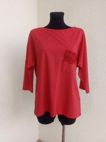 (20) Bawełniana bluza z gipiurą 42