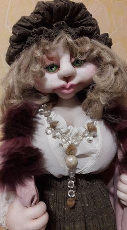Авторская интерьерная кукла ручной работы