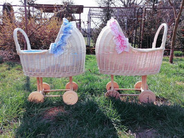Wózki oczepinowe ślub wesele dekoracje