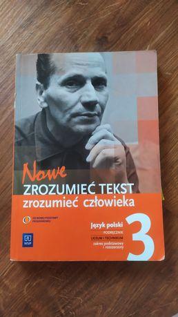 Nowe zrozumieć tekst zrozumieć człowieka 3 - język polski