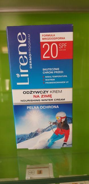 Lirene odżywczy krem na zimę 20 SPF Nowy