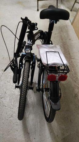 Bicicleta Wayscral dobravel