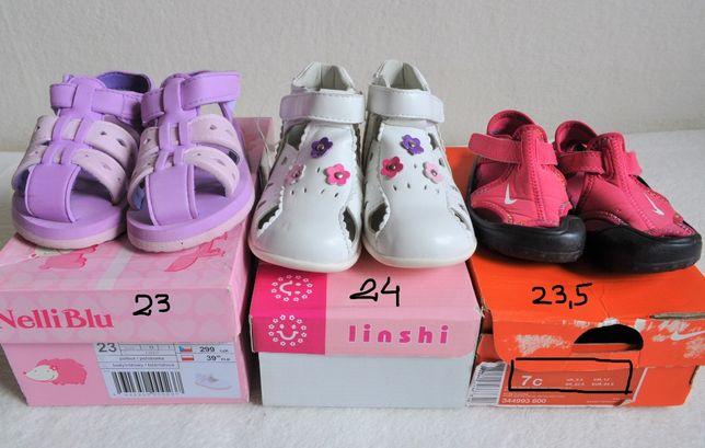 Buciki buty letnie dziecięce Nike 23 23,5 24