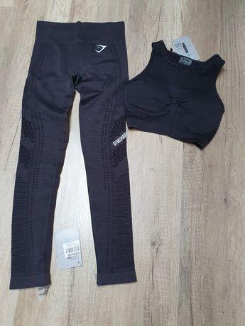 Gymshark Set zestaw Flawless Knit r.Xs/S