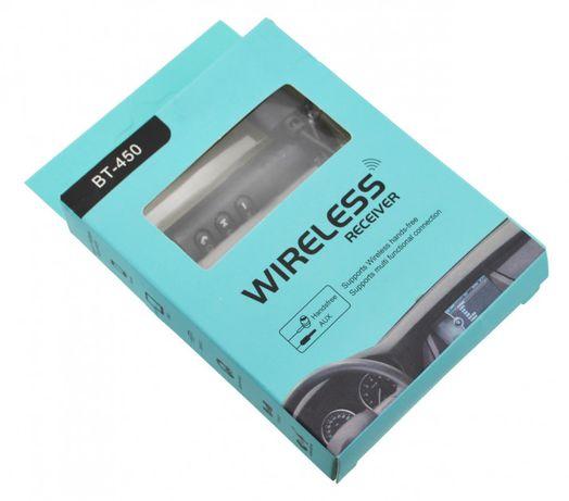 Авто адаптер ресивер трансмиттер Bluetooth AUX MP3 BT-450