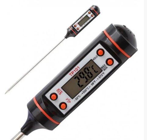 Термометр градусник пищевой цифровой электронный со щупом TP-101 Ufr П