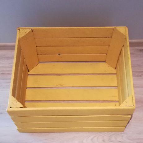 Skrzynka drewniana pojemnik 50x40