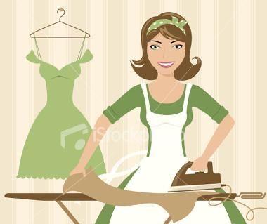 Passo roupa a ferro