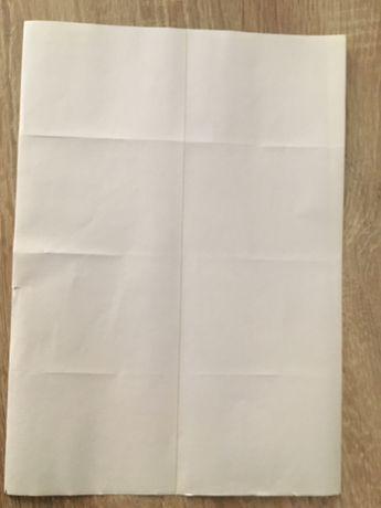 Самоклеющаяся бумага А4 (самоклейка А4) (100 листов) /8