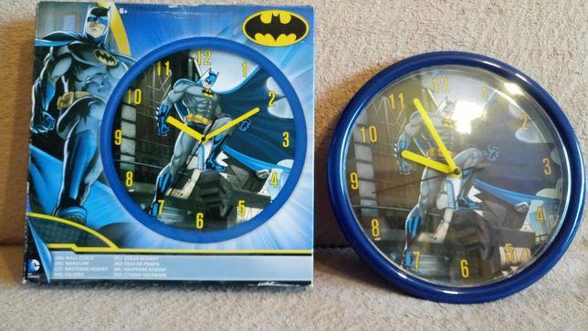 Zegar ścienny z Batmanem