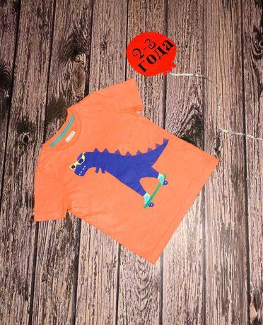 Фирменная футболка TU для мальчика 2-3 года, 92-98 см