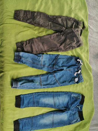 Spodnie chłopiec rozmiar 116