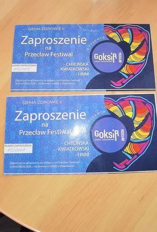 2 Zaproszenia na Przeclaw Festiwal